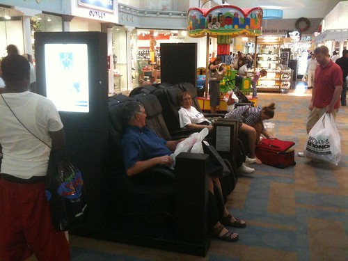 Massage Chairs at Sawgrass Mills Mall