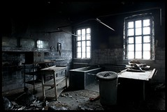 The scene of the crime (Romany WG) Tags: urban abandoned beautiful hospital dawn arm decay s scene crime murder macabre explorers exploration asylum derelict abandonment severed urbex hauntingly moodyspooky bestofabandoned