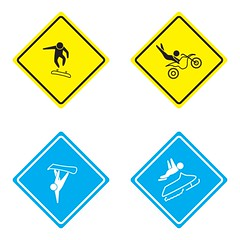 X-Games Pictograms