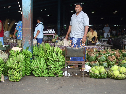 The Markets in Apia, Upolu