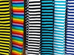 I spotted the stripes
