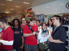 Nintendo World Store E3 2011 Party -- 05 (StreetPassNYC) Tags: world street new york city nyc party cats ny cake square store video 3d kid fighter ar soccer union nintendo meeting evolution super mario games ridge gamer u link pro kart zelda plus warriors network giants samurai mansion e3 icarus combat edition tekken dinosaurs uprising sims 3ds pikmin racer samus nintendogs wii luigis chornicles ssf4 pes2011