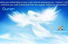و آنگاه كه از پروردگارتان #يارى خواستيد و خدا دعایتان را #استجابت کرد و فرمود من با هزار #فرشته كه از پى يكديگر مىآيند #ياريتان مىكنم.  آیه 9 سوره مبارکه انفال  @nasimerahmatتفسیرصوتی (mohsenrezaee) Tags: استجابت يارى فرشته ياريتان
