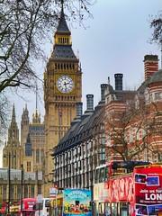The Elizabeth Tower, London. (nigelharris4) Tags: landmark iconic tourist urban elizabethtower bigben uk city london