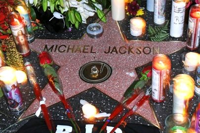 MJ - Walk of fame
