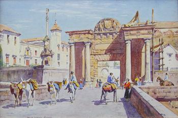 Lionel Lindsay, Herrera Gate, Cordova.