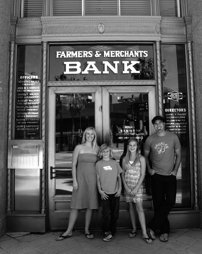brown family - bank