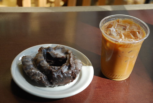 donut and coffee, seattle style