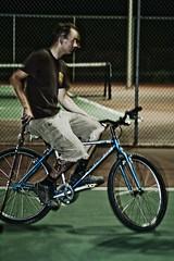 Bike Polo_35 (Miss Minie  :Process Of Illumination:) Tags: newmexico bicycle canon aj sebastian bret albuquerque bikepolo tenniscourt