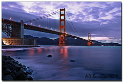 Golden Gate Bridge at Twilight (Jill's Junk) Tags: sanfrancisco california dusk goldengatebridge 7248 outstandingshot anawesomeshot jillsjunk