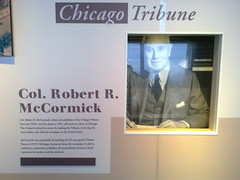 Willis Tower Skydeck feature on Chicago Tribune publisher Col. Robert R. McCormick