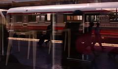 Treno, Passeggeri e Binari...tutti al Bar (Zappa Photos) Tags: light rome roma station silhouette bar train cafe shadows termini ombre passengers mirrored railways stazione caff luce canon1855 treni passeggeri canoneos450d