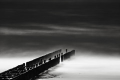 No Horizon (Joel Tjintjelaar) Tags: nohorizon hugewaves windseaandsand 12stops tjintjelaar blackandwhitelongexposureseascape hiroshisugimotoinspiredseascape bw110nd301000xneutraldensityndfilter ndcpfilter longexposurewithazoomlens nowetfeetforachange
