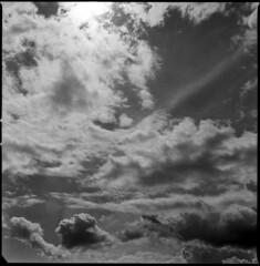 . (maleoni) Tags: sky bw sun white black 120 6x6 film clouds mediumformat fuji shades bn hasselblad epson neopan sole bianco nero squared 400iso 500cm pellicola v500 medioformato carlzeissplanar80mm maleoni