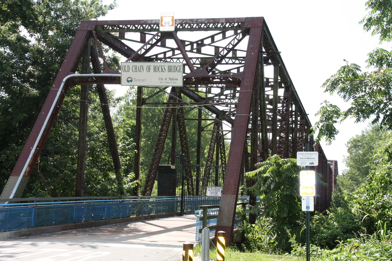 Old Chain of Rocks Bridge