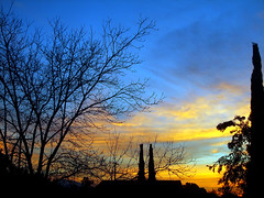 Morning Has Broken (KYin1221) Tags: california morning blue trees sky usa sun black yellow clouds sunrise hope losangeles shadows silhouettes beginning ih bss unanimouswinner thechallengefactory kyphotography lostinlifeagain