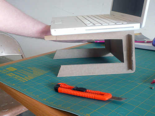 Laptop Stand, Experiment 1