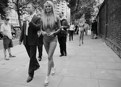 Proud (Ian Brumpton) Tags: street uk england blackandwhite bw london proud blackwhite calle britain pavement candid models streetshots streetphotography streetlife streetscene pride sidewalk hm swagger lordscricketground streetphotographer thesevendeadlysins streetfoto blackwhitephotos lordingit scattidistrada