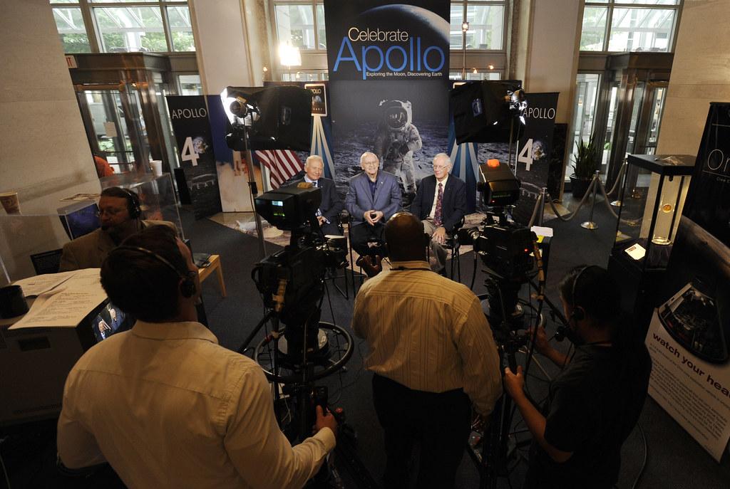 (200907200092HQ) Apollo 40th Anniversary Morning Television