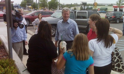 Baucus in Great Falls