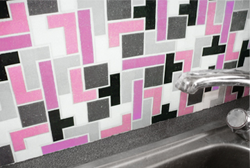 tetris bathroom