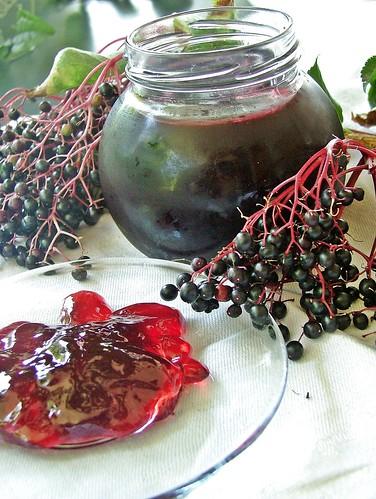 gelatina di bacche di sambuco - martina