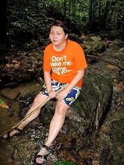 Kemensah Falls - 05 Half dead Suanie