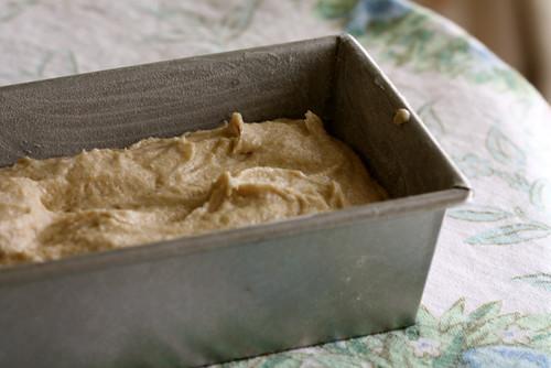 Honey Whole Wheat Pound Cake