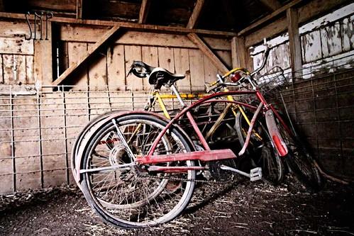 . old bikes .