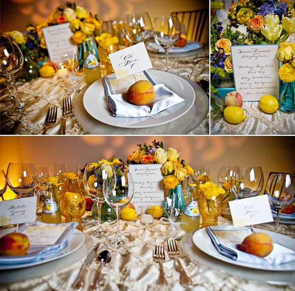 Summer Romance Tablescape from StudioWed featuring Smock