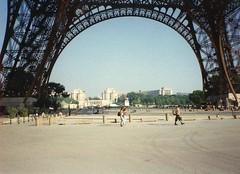 Paris (Ridders) Tags: paris france eiffeltower champdemars trocadero gustaveeiffel europeantour1996 1889worldsfair