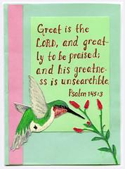 a blessing from sarah (indee) Tags: boner 2009 handmadecard mynephews mynieces indee joelboner joelssisters joelsbrothers