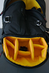 Kata DR-467 bottom compartment