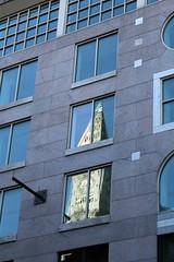 Custom House Reflected (Read2me) Tags: she reflection building window boston clocktower customhouse gamewinner challengeyouwinner 3waychallengewinner thechallengefactory tcfunanimous yourock1stplace pregamewinner