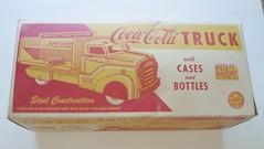 1954 MARX COCA COLA TRUCK-BOX (ussiwojima) Tags: toy cola coke soda cocacola toytruck toybox coketruck cocacolaadvertising marxtruck marxtoybox