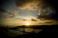 (Kevin.Fai) Tags: sunset  tsingmabridge