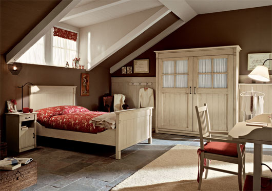 Arredamento Country Style.English Country Style Bedroom Interior From Arredamento