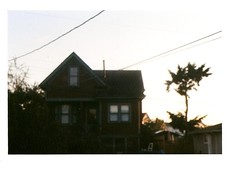 _ ({west coast}) Tags: sunset house film shadows canona1 thebeatles kodakgold 9909 beatlessongs teenagephotographer characterhouse filmfilmfilm unfocusedintentionally secondincommentsisfromanexpireddisposablecamerathatswhyitswonky gottalovefilmflubs