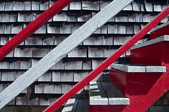 Red & White Stairs - (30/100)