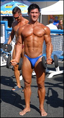23 (bb-fetish.com) Tags: muscle posing posers trunks bodybuilder bulge