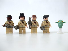 Lego Ghostbusters (batboy2424) Tags: movie comedy lego ghosts ghostbusters billmurray slimer erniehudson danaykroyd haroldramis winstonzeddmore protonpacks drpetervenkman drraymondstantz dregonspengler protonwands
