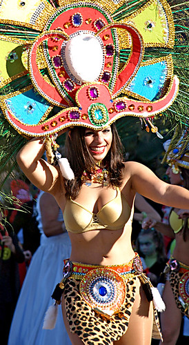 Dancing Girl at Carnival