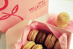 miette macarons (sevenworlds16) Tags: sanfrancisco cookies rose french store candy chocolate lavender patisserie bakery raspberry 365 hayesvalley geranium parisian macarons miette confiserie project3661 2009yip 3652009 hazelntu