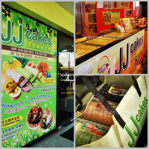 JJ Cakes outlet
