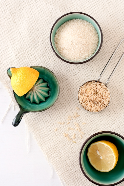 Rice Flour& Lemon For Tarts