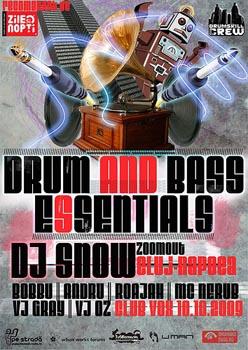 Drum and Bass Esentials
