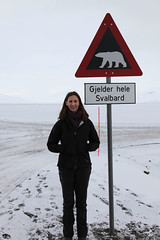 Janet Biggs in Svalbard