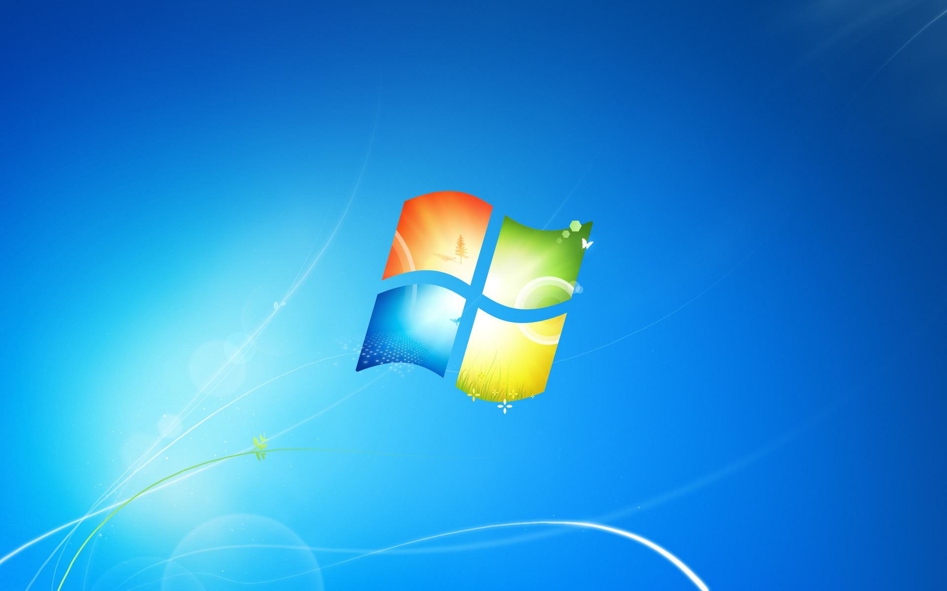 The Fun Starts Here!: Windows 7 Default Desktop