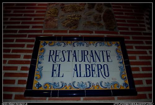 Restaurante El Albero en Moraleja de Enmedio