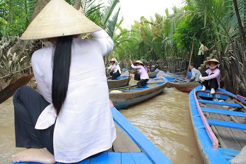 Canoeing with Ms. Saigon